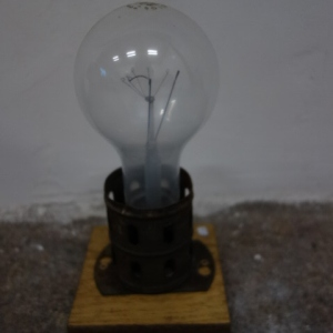Oude Fabriekslamp