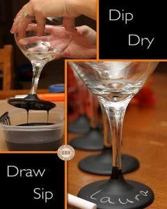 Wijnglas Dip-Dye