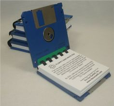 Floppy Disk Notepad