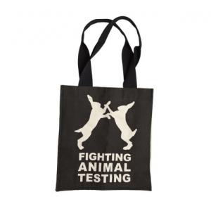 Lush Figting Animal Testing Tas