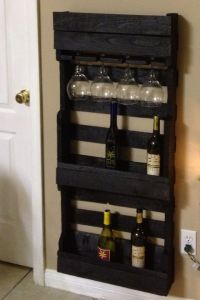 Super chique wijnrek