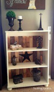 Pallethout is ook geweldig om je meubels mee op te leuken!