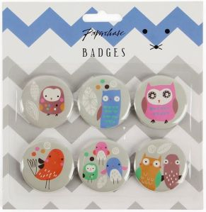 Paperchase badges