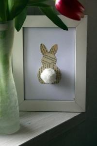 Dit schattige konijntje is sowieso leuk voor de lente!