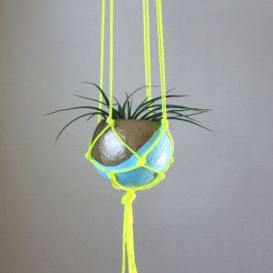 Neon Planthanger