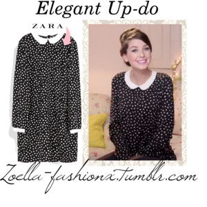 Zoella Elegant Up-Do