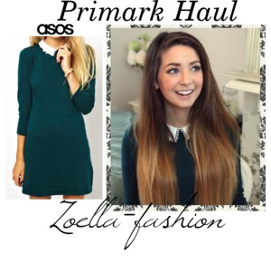 Zoella Green Dress