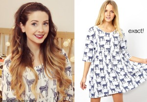Zoella Deer Dress