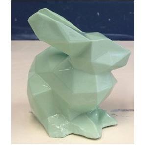 Porcelain Bunny Green