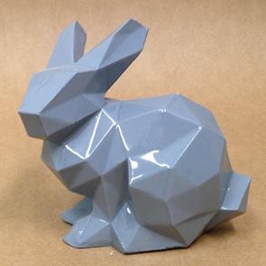 Porcelain Bunny Grey