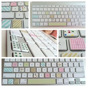 Washi Tape Keyboard Pimp