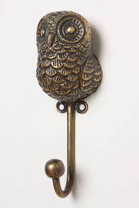 Anthropologie Hook Owl