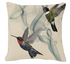 Hummingbird Kussen Alexander McQueen (Colibrie Collectie)