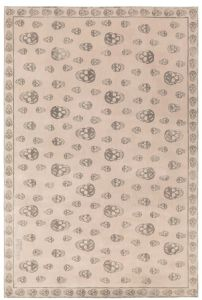 Skull tapijt door Alexander McQueen