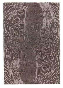 Feathers tapijt door Alexander McQueen. Geïnspireerd op het patroon in een veer.