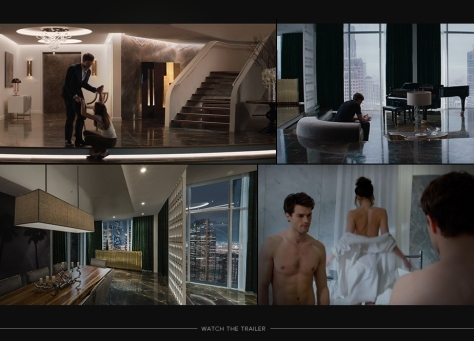 Fifty Shades Christians Appartement