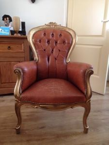 De stoel zoals ik hem kocht