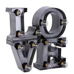 Lamp Love Grijs