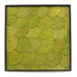 Leaf Wandpaneel groen