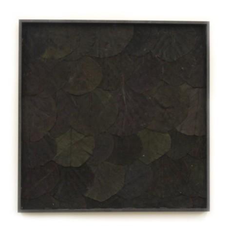 Leaf Wandpaneel zwart