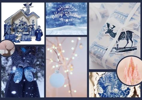 Porcelein-Romantisch Kerst