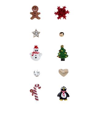 Accessorize_Christmas_Stud_Earrings_Kerst_Oorbellen_Set_10