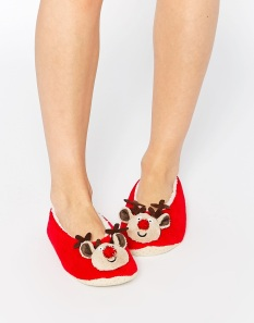 Asos_Christmas_Pantoffels_Slippers_Reindeer_Rendier_Kerst_Accessoires_Mode_Fashion