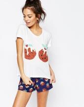 ASOS_Christmas_PJ_Pajamas_Chelsea_Peers_Pyjama_Kerst_Pudding