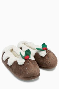 Next_Christmas_Pudding_Slippers_Kerstpudding_Kerst_Pantoffels