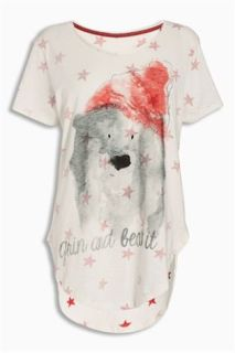 Next_Grin_and_Bear_Night_Shirt_Christmas_Nachthemd_Kerst