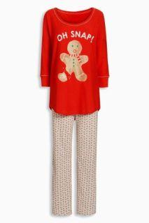 Next_Oh_Snap_Gingerbread_PJ_Pajama_Pyjama