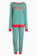 Next_Pajamas_PJ_Christmas_Stripes_#Elfie_Elf_Pyjama_Kerst