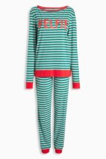 Next_Pajamas_PJ_Christmas_Stripes_#Elfie_Elf_Pyjama_Kerst