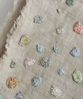Linen Artwork Dots
