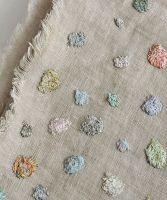 Linen Artwork Dots