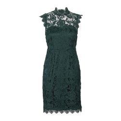 groene-kanten-jurk