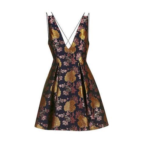 jurk-met-gouden-bloemen