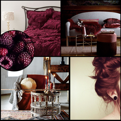 Moodboard Red Hair Day